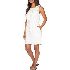 Mountain Khakis Sunnyside Embroidered White Dress